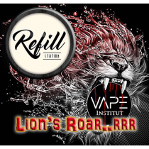 Refill Station - Lion's Roar - Vape Institut