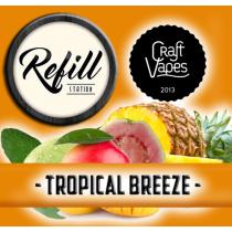 Refill Station - Tropical Breeze - Craft vapes