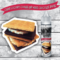 Smores Addict - Chewy Coconut Cookies and White Chocolate Smore