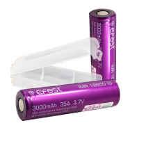 Accu 18650 Efest IMR Purple Metal - 3000 mAh - 35A