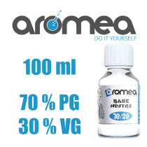 CHTI-VAPOTEUR-DIY-70-300MG-AROMEA-base-neutre-100ml-70%-PG-30%-VG-aromea