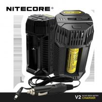 CHTIVAPOTEUR-CHA-V2NITECORE_chargeur-accumulateurs-voiture-nitecore-v2