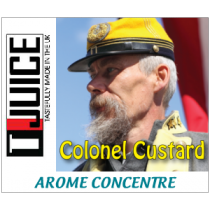 Concentré TJuice Colonel Custard