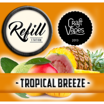 Refill Station - Tropical Breeze - Craft vapes