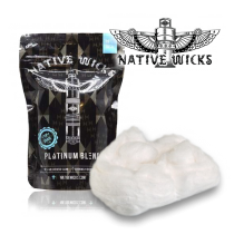 Coton Native Wicks - Platinium Blend